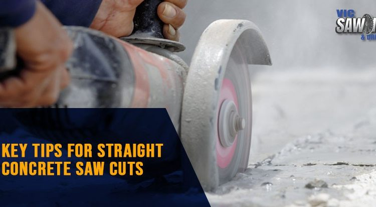Key Tips For Straight Concrete Saw Cuts