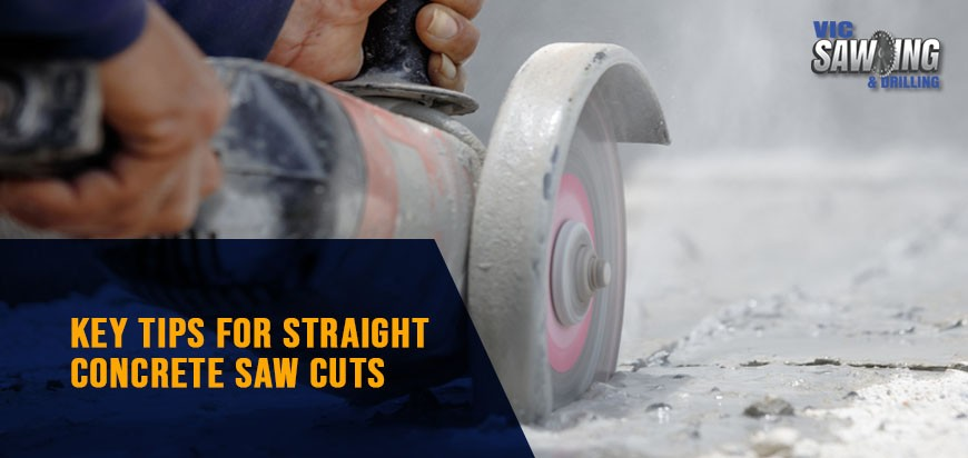 Tips For Straight Concrete Saw Cuts
