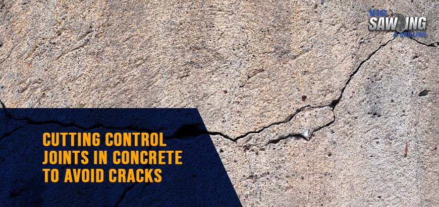 Cutting Control Joints In Concrete To Avoid Cracks