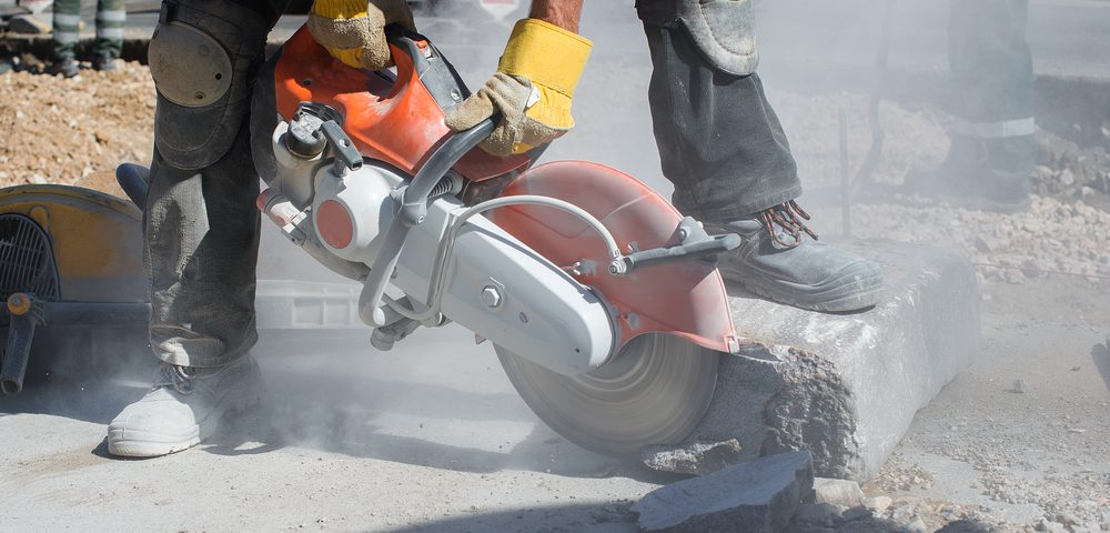 Minimise Dust When Sawing Concrete