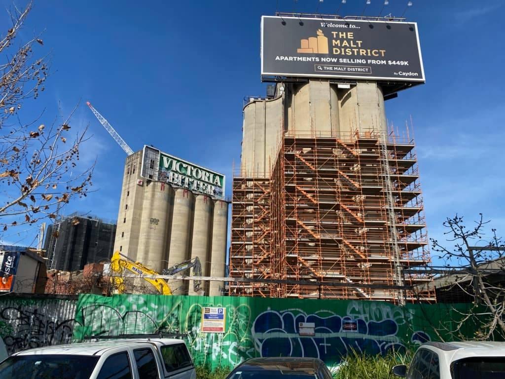 Commercial Concrete cutting job